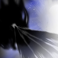 El ángel de la luz VS el dragón de la oscuridad