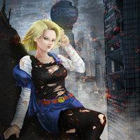 fan art - androide 18 - dragon ball z