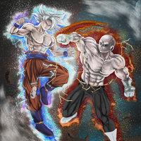 fan art - Goku vs Jiren - Dragon ball super