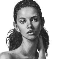 Marina Nery retrato digital