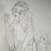Touko///Hilda - Pokemon