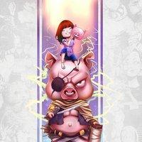 Pig Warrior - Chinese Zodiac