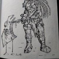 Diseño personaje para juego de rol/mesa