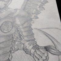 Dibujo/diseño de tatuaje, Husaria (Polish Winged Hussar)