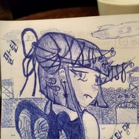 Sad succubus sketch