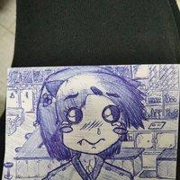 Sketch/boceto rápido a bolígrafo