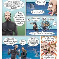 Ilustración comic