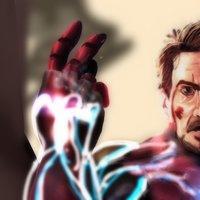 yo soy iron man-dibujo digital