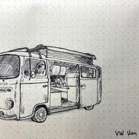 VW Van Camper