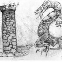 Sketch Dragón