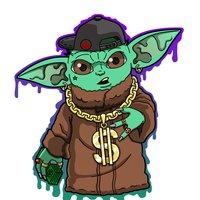 Baby Yoda Gangsta