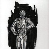 C-3PO Sketch