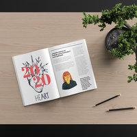 Ilustración para artículo de revista