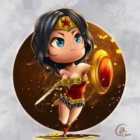 Wonder Woman chibi 2017