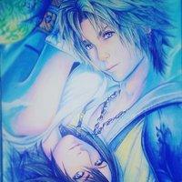 Tidus y Yuna Final Fantasy X