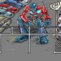 Optimus Prime - lote de autos