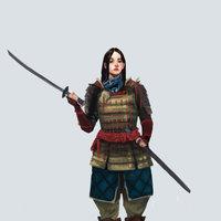 Estudio personajes Samurai