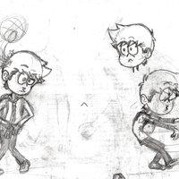 Practica (intento) gestos y poses de personaje cartoon