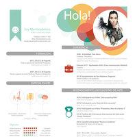 Curriculum Vitae Mentiradeloro (CV creativo)
