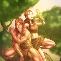 Tarzan and Jane Fanart