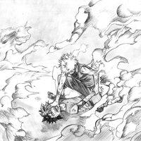 Boku no Hero Academia - Deku vs Bakugou 2