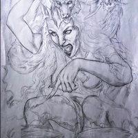 Erynia es poseída por el Canticum