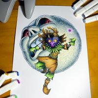 Majora's Mask Fan Art (@KizokuART)