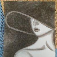La mujer del sombrero