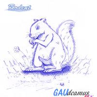 Rodent -Inktober 2020 - Dia 6