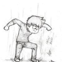 Practica bocetos poses de pelea