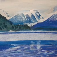 Paisaje Montañas - Esquel Glaciar Torrecillas (artegs)