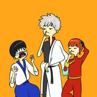 FanArt | Gintama | Adventure Time Style