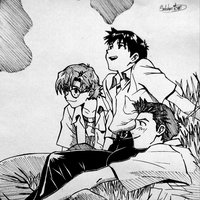 Evangelio - Shinji, Toji y Kensuke
