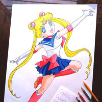 Fan art Serena Tsukino / Sailor Moon
