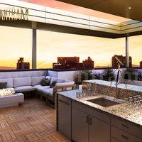 Modern Community Apartments Servicios Servicios de renderizado 3D por Yantram Studio