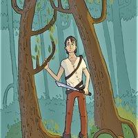 Superviviente en un bosque // en Photoshop//