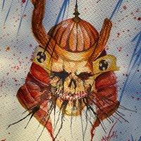 Undead Samurai Helmet