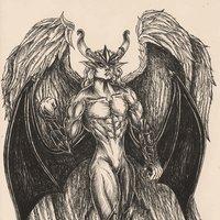 45 ava comision: El angel-demonio-cosa