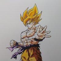 Goku ssj Saga Freezer