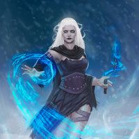 bruja de hielo