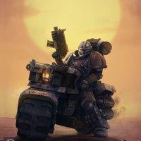 Warhammer + Mandalorian