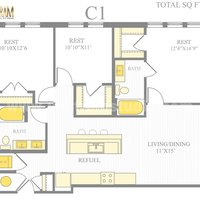 Residential 2D Floor Plan House Design by Architectural Design Studio, San Diego – US