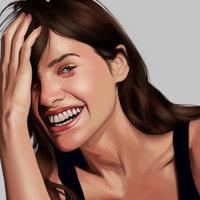 Retrato de Hanna Juzon