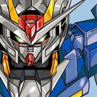 Dibujo de Gundam 00
