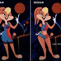 Redraw Lola Bunny