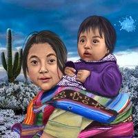 Niños Indigenas del Mundo