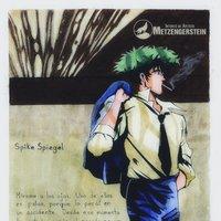 Spike Spiegel. Acuarela