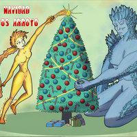 Celebrando la Navidad con Frixio y La mujer de fuego