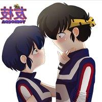 Ryoga y Akane fanart