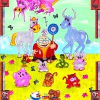 La historia   de  BUDA, y  el calendario   CHINO.